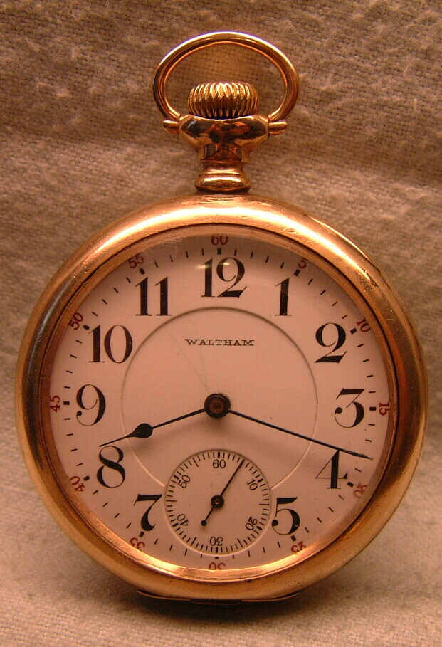 New Old Stock To Win A High Admiration Pocket Watch Hairspring 16 Size Pocket Watches Antique